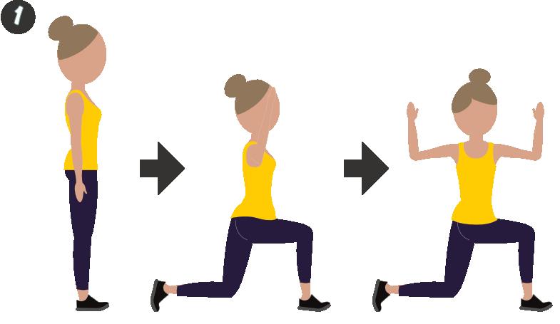rotation lunge